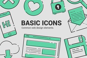 Basic Icons Vol. 1