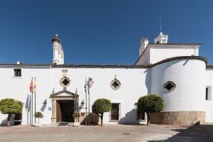 Hotel Parador city of Merida Spain,