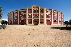 Merida bullring in Spain