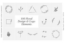 Floral Design & Logo Elements