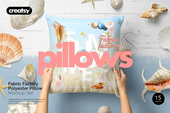 Fabric Factory v.3: Polyester Pillow