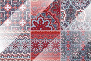 55 seamless ethnic patterns