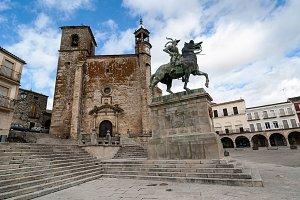 Square of Trujillo, Unesco, Spain