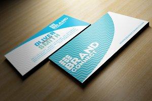 Simple Blue Business Card