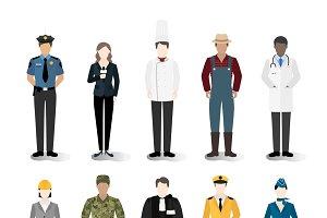 Illustration of careers