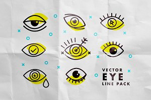 Vector Eye Line pack