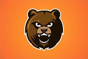 Mad Bear Mascot