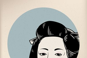 Illustration of Japanese style