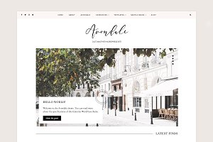 Avondale Feminine WordPress Theme