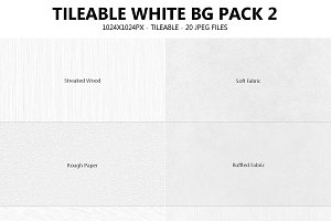 Tileable White Background Pack 2