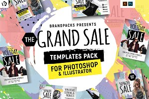 Grand Sale Templates Pack