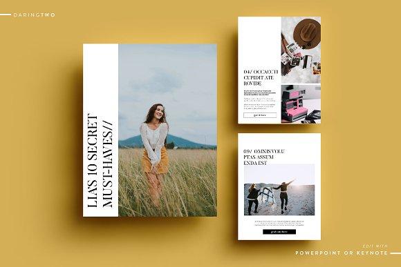 T3 Ebook Template Powerpoint Keynote Magazine Templates Creative