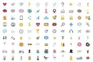 Illustration of icons