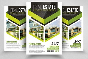 Real Estate Property Dealing Flyers