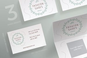 Business Cards | Fashion Shoes