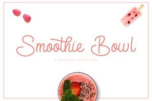 Smoothie Bowl Script Font