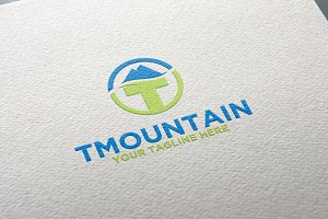 Mountain | T Logo | Letter