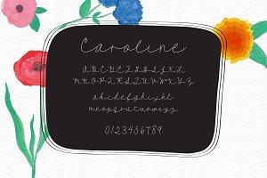 Caroline - A Script Font