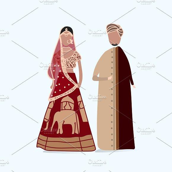 Illustration Of Wedding Dress