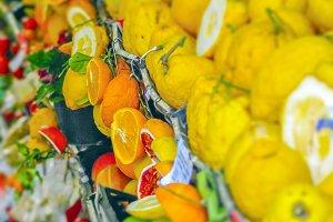 Sicilian citrus fruit
