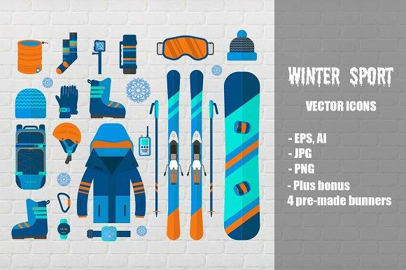 Winter Sport Icon
