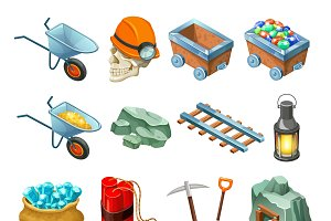 Mining Game Isometric Elements Set