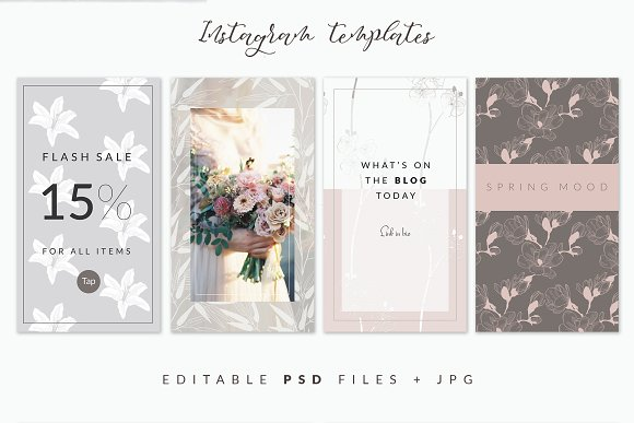 35+ Patterns & 8 Instagram Templates in Patterns - product preview 3