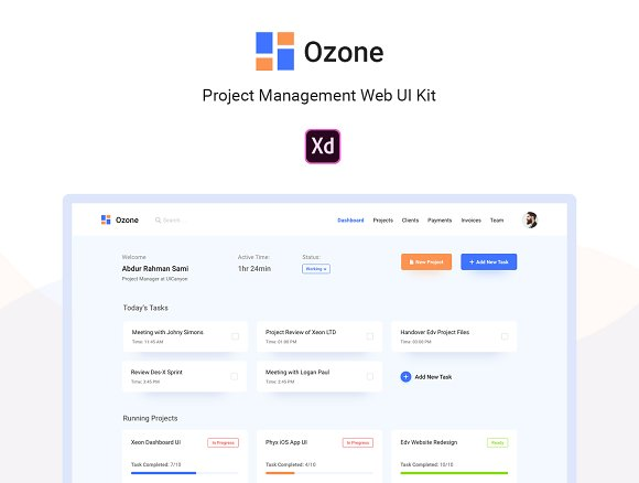 Ozone Project Management Web UI Kit