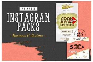 BUSINESS_Animated Instagram Packs I