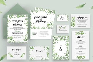 Wedding Invitation Suite - James
