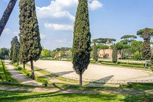 Piazza di Siena in Roma