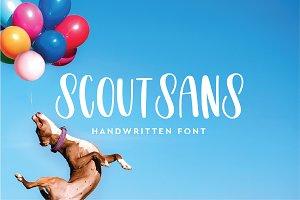 Scout Sans Handwritten Font