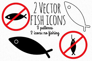 Vector Fish Icons