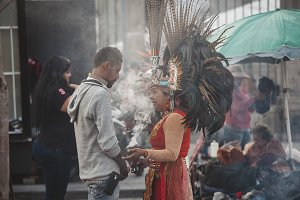 Aztec Shaman, Mexico City
