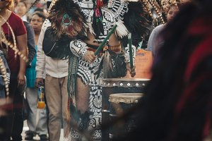 Aztec dances, Mexico City