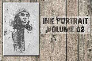 Ink Portrait Volume 02