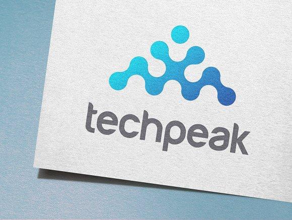 Tech Peak Logo