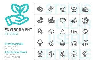 Environment Mini Icon