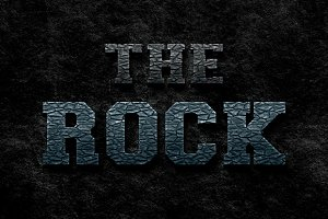 The Rock - Photoshop Style