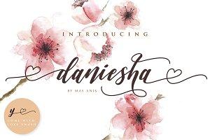 Daniesha - Romantic Font Script