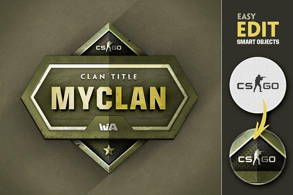 Clan Gaming Logo II
