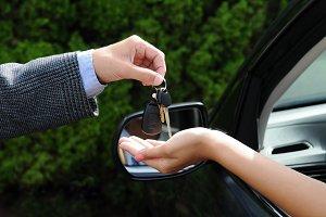 Handing 0ver Keys to New Car