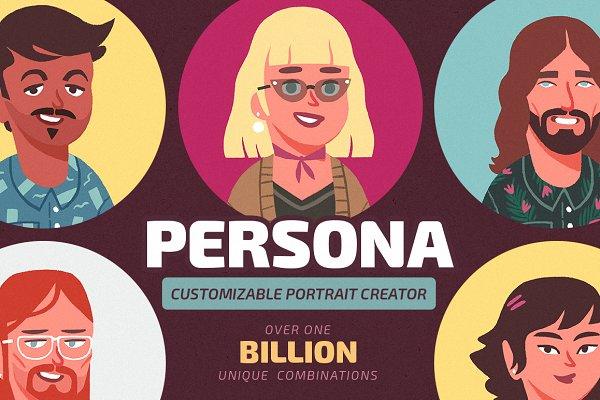 PERSONA Portrait Creator