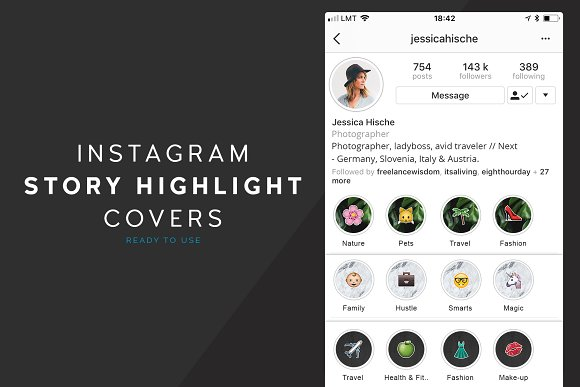Instagram Highlight Covers - Stories