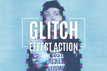 Glitch Effect Action