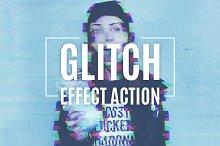 Glitch Effect Action