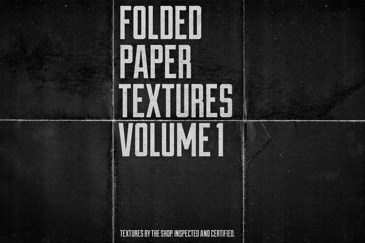 Folded Paper Textures Volume 01 Textures Creative Market