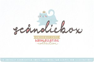 Scandiebox Handlettering Collection