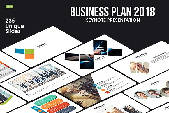 Business plan 2018 keynote template presentation templates business plan 2018 keynote template presentations wajeb Images
