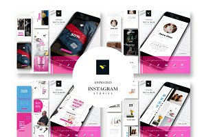 Bundle Instagram Stories Template